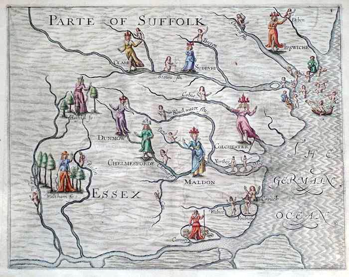 Old Essex Map
